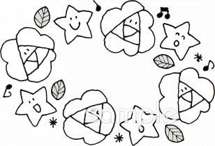バラ 合唱イラストなら小学校幼稚園向け保育園向け自治会pta