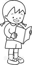 音読イラストなら小学校幼稚園向け保育園向け自治会pta向けの