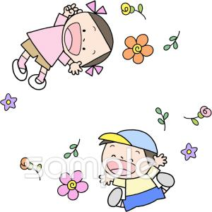 笑顔 子どもイラストならかわいい無料イラストお試し児童福祉施設
