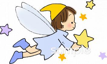妖精 キラキライラストなら小学校中学校幼稚園向け保育園向けの