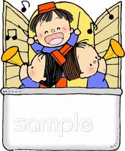 吹奏楽イラストなら小学校幼稚園向け保育園向けのかわいい無料