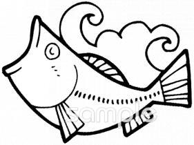 魚イラストなら小学校幼稚園向け保育園向けのかわいい無料イラスト