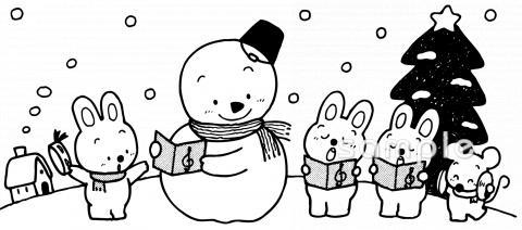 12月の壁面イラストなら 小学校 幼稚園向け 保育園向けのかわいい無料イラストお試しフリー素材 カット がいっぱいの安心サイトへどうぞ