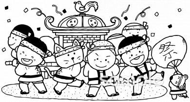 秋祭りイラストなら保健室小学校幼稚園向け保育園向けのかわいい
