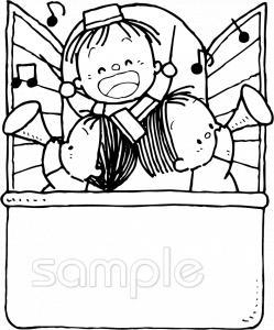 吹奏楽イラストなら給食小学校幼稚園向け保育園向けのかわいい