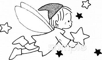 妖精 キラキライラストなら給食小学校幼稚園向け保育園向けの