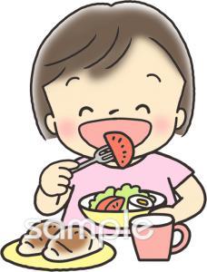 食事イラストなら給食小学校幼稚園向け保育園向けのかわいい無料