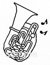 吹奏楽 チューバイラストなら音楽小学校幼稚園向け保育園向けの