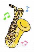 楽器 バリトンサックスイラストなら音楽小学校幼稚園向け保育園