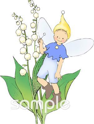 妖精 すずらんイラストなら小学校幼稚園向け保育園向けのかわいい