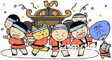秋祭りイラストなら小学校幼稚園向け保育園向けのかわいい無料