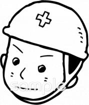 安全ヘルメット 作業員イラストなら小学校幼稚園向け保育園向けの