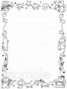 音楽会 フレームイラストなら小学校幼稚園向け保育園向けの