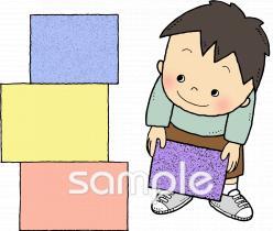 子ども 片づけるイラストなら小学校幼稚園向け保育園向けの