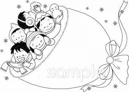 冬 こどもイラストなら小学校幼稚園向け保育園向けのかわいい無料