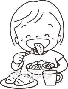 食事イラストなら小学校幼稚園向け保育園向けのかわいい無料