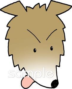 お面 オオカミイラストなら 小学校 幼稚園向け 保育園向けのかわいい無料イラストお試しフリー素材 カット がいっぱいの安心サイトへどうぞ
