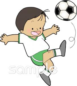 サッカー 練習イラストなら小学校幼稚園向け保育園向けのかわいい