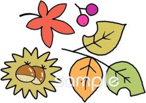 ちいさい秋イラストなら 小学校 幼稚園向け 保育園向けのかわいい