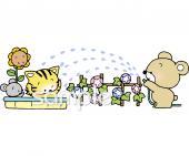 水遊びイラストなら小学校幼稚園向け保育園向けのかわいい無料