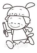 バトンパスイラストなら小学校幼稚園向け保育園向けのかわいい無料