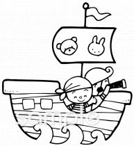 斬首される 大尉 海賊 ベクトル クリップアート切り張り