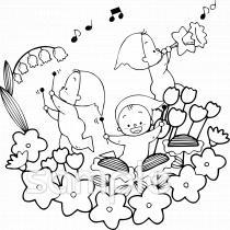 音楽会 こどもイラストなら小学校幼稚園向け保育園向けのかわいい