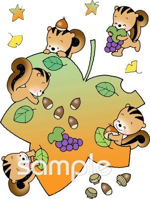 実りの秋イラストなら小学校幼稚園向け保育園向けのかわいい無料