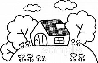 建物イラストなら、小学校・幼稚園向け・保育園向け・健康・医療