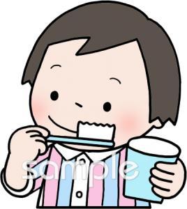 歯みがきイラストなら小学校幼稚園向け保育園向け家庭向けの