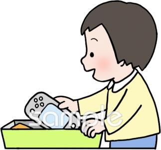 子ども 片付けイラストなら小学校幼稚園向け保育園向け公共施設